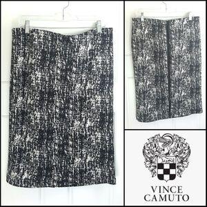 Vince Camuto Scuba Pencil Skirt  SOFT!  Size Large